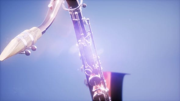 Thumbnail for Golden Tenor Saxophone