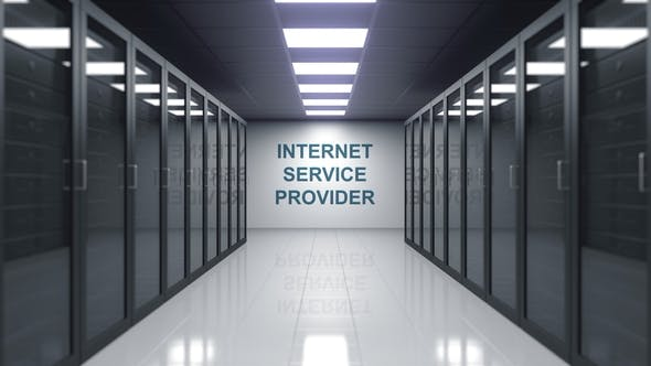 Thumbnail for INTERNET SERVICE PROVIDER Caption in a Server Room