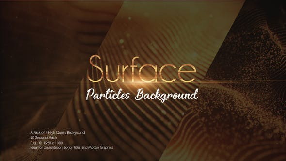 Thumbnail for Surface Particles Backgrounds Pack