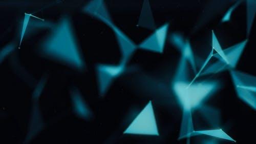 Dusty Polygon Background