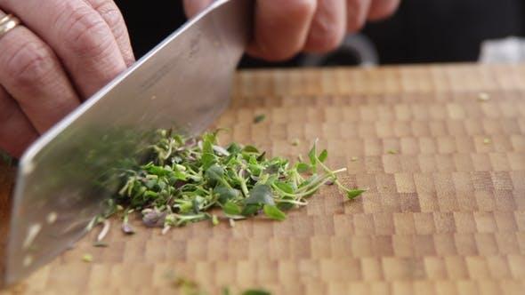 Thumbnail for Chopping Fresh Herbs