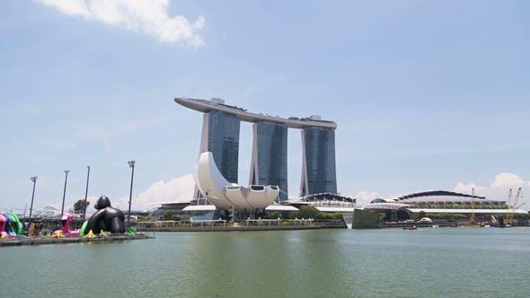 Thumbnail for Hyperlapse Marina Bay Sand Singapore