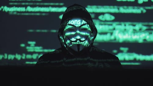 Anonymous in the Mask Steals User Data on the Network