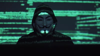 Hacker in the Mask Hacks the Program