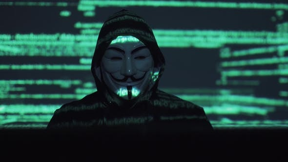 Hacker in the Mask Hacks the Program