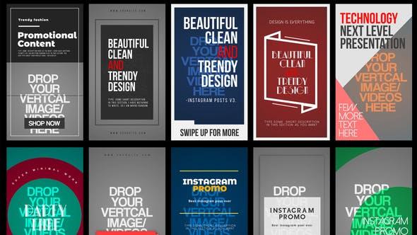 Thumbnail for Instagram Stories V.3