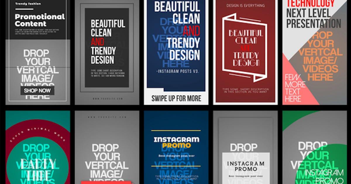 Download Instagram Stories V.3 by Media_Stock