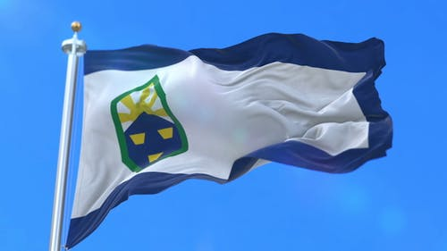 Flag of Colorado Springs City of United States of America