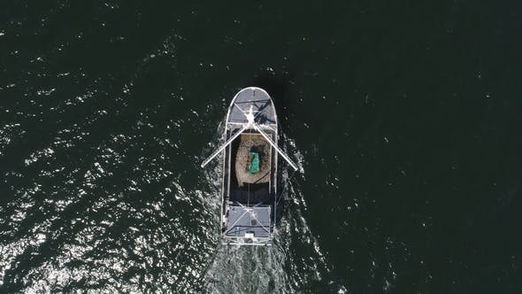 Thumbnail for Drone Flight Over Boat