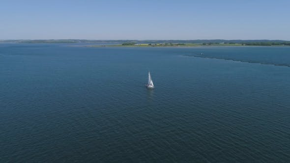 Thumbnail for Sailboat on Jutland Water