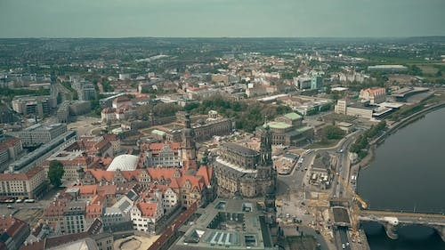 Historic Part of Dresden Germany