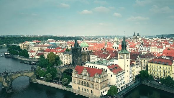 Thumbnail for Prague and the Vltava River