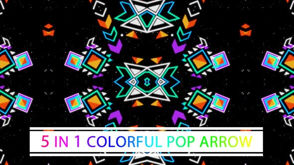 Thumbnail for Colorful Pop Arrow