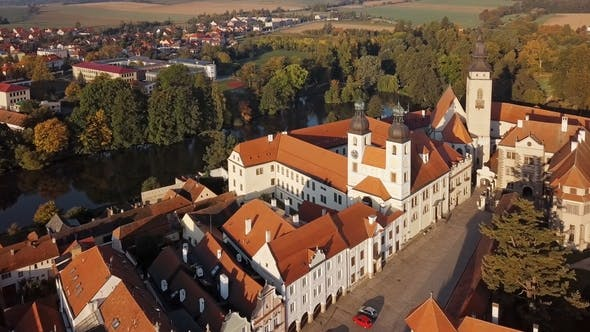 Thumbnail for Old Town Telc, Czech Republic, From Top