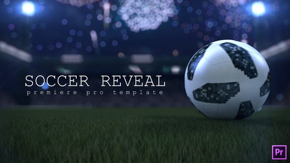 Thumbnail for Soccer Ball Reveal | Premiere Pro