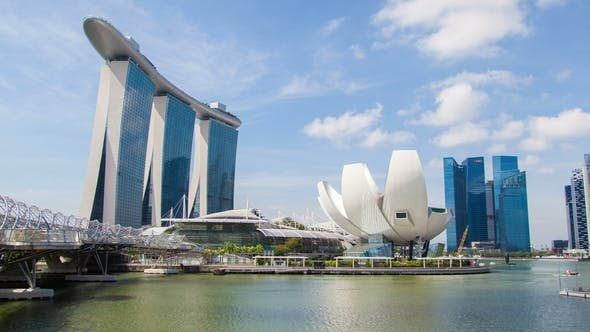 Thumbnail for Singapore Marina Bay Sands with ArtScience
