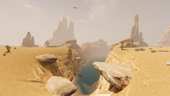 Thumbnail for Desert and Fog