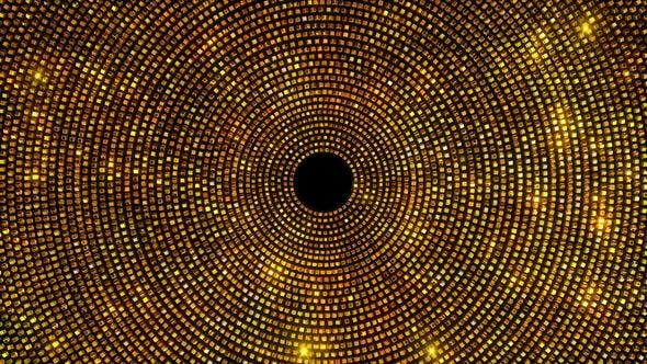 Thumbnail for Golden Glittering Circles 2