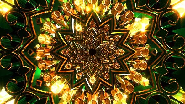 Thumbnail for Golden Green Ornament