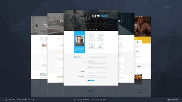 Презентация сайта v.3 | 3D