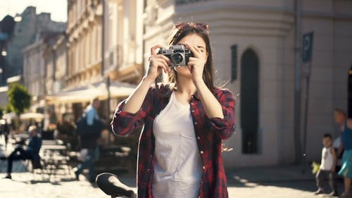 Teenager Takes Photos