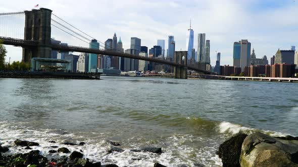Thumbnail for New York City Cityscape from Brooklyn