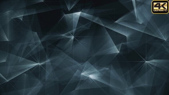 Thumbnail for Abstract Grey Glowing Edges Background Loop