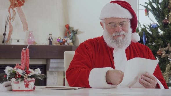 Thumbnail for Santa Claus Read Letters From Children