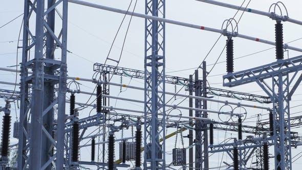 Thumbnail for Umspannwerk zur Verteilung elektrischer Energie