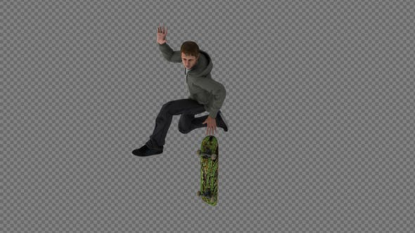 Thumbnail for The Boy Skateboard Flip FingerFlip Airwalk Air Pack 3In1