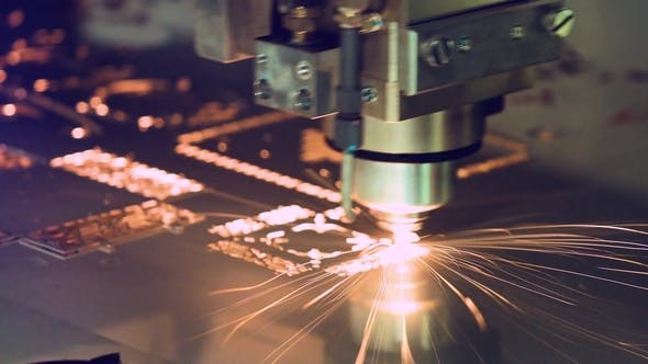 Thumbnail for CNC Laser Cutting of Metal, Modern Industrial Technology.