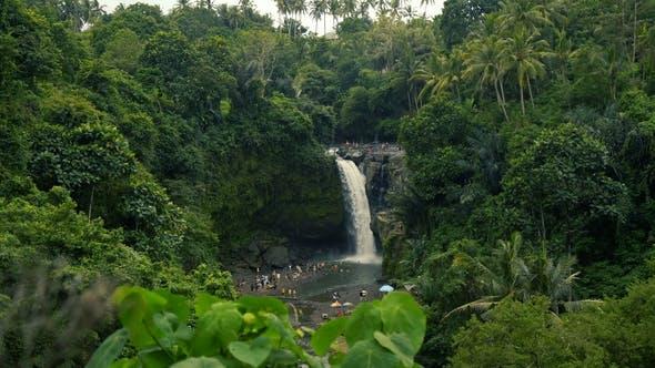 Thumbnail for Amazing Tegenungan Waterfall Near Ubud in Bali, Indonesia