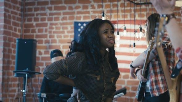 Thumbnail for Black Girl Leaving Band in Quarrel