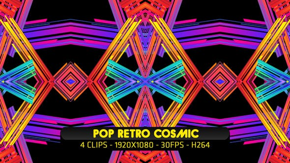 Thumbnail for Pop Retro Cosmic