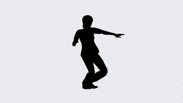 Thumbnail for Silhouette Of A Dancing Girl