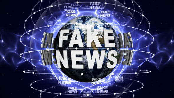 Cover Image for Two Fake News Text Around Earth
