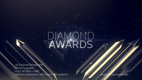 Thumbnail for Diamond Awards Background Loops