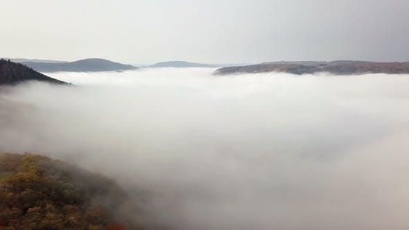 Morning Fog on Mosel Valley