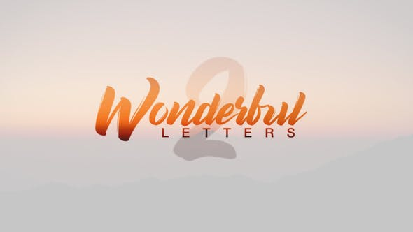 Cover Image for Wonderful Letters 2