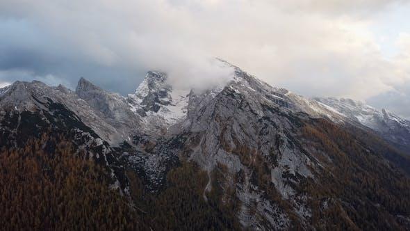Thumbnail for Flight Over Watzmann and Hochkalter Mountains, Berchtesgaden, Germany