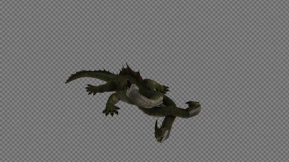 Hydra Dinosaur Die Pack 4In1