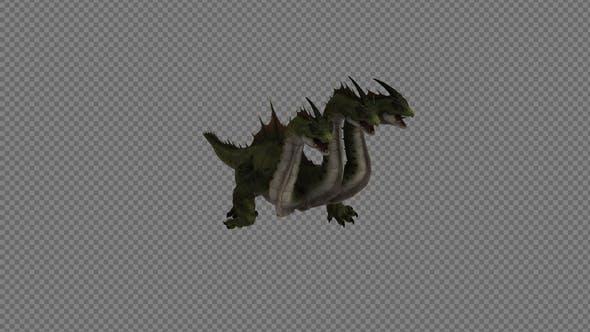 Hydra Dinosaur Run Pack 4In1