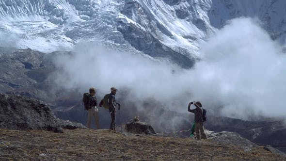Thumbnail for Travelers in the Himalayas