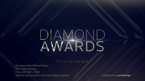 Diamond Awards Opener