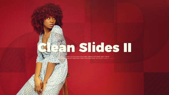 Thumbnail for Upbeat Clean Slides II