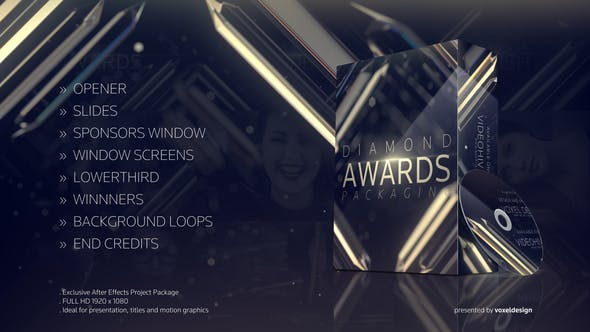 Thumbnail for Diamond Awards Packaging
