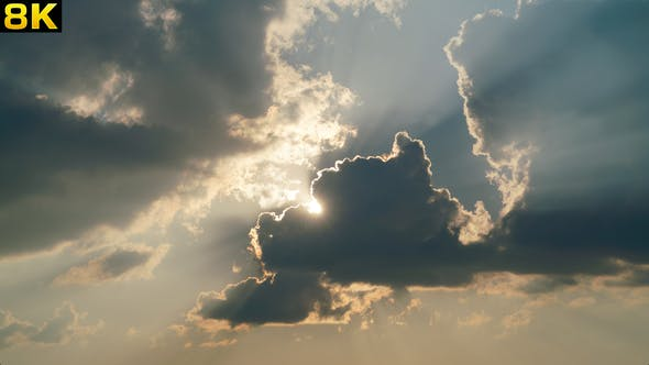 Sunbeams Clouds