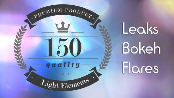 Thumbnail for 150 Light Leaks, Bokeh and Flares