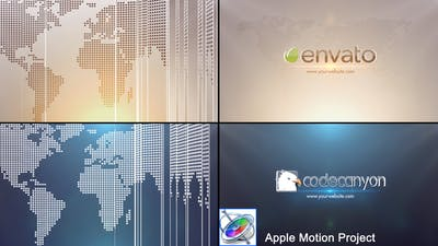 Global Business Logo - Apple Motion