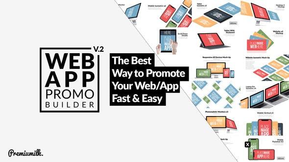 Thumbnail for Web App Promo Builder